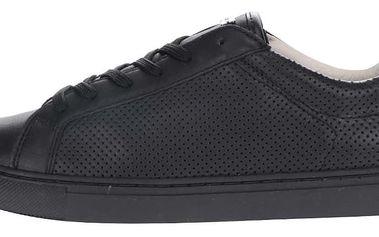 Černé dámské kožené tenisky Geox Trysure