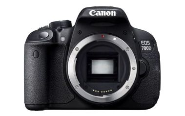 Digitální fotoaparát Canon 700D, tělo (8596B023) černý