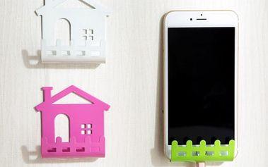 Univerzální držák na telefon ve tvaru domečku
