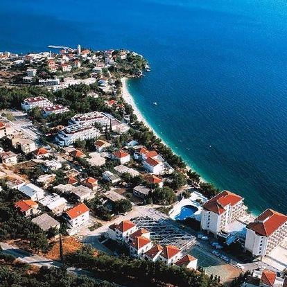 Chorvatsko - Gradac na 8 až 10 dní, polopenze s dopravou vlastní nebo autobusem