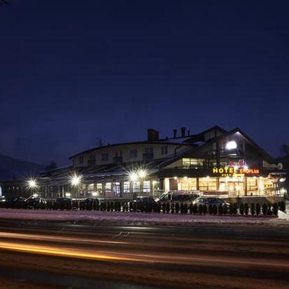 3899 Kč za 3denní odpočinkový pobyt v Beskydech v luxusním hotelu Eroplán**** Romantika pro DVA včetně wellness a polopenze