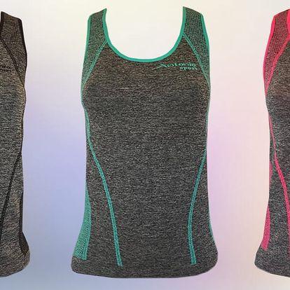 Dámské fitness tílko v šesti barvách