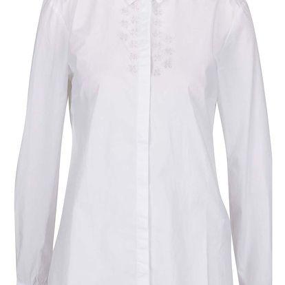 Krémová dámská košile s korálkovou aplikací s.Oliver