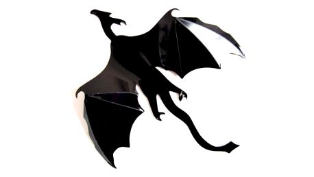 3D samolepka na zeď - 7 letících draků