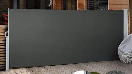 Venkovní zástěna výška 1,6m délka 3m Sporthome modrá