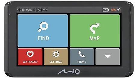 Navigační systém GPS Mio Spirit 8670 Full Europe Lifetime černá + Doprava zdarma