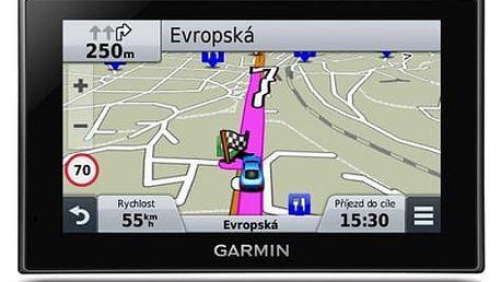 Navigační systém GPS Garmin nüvi 2789T Lifetime Europe45 černá