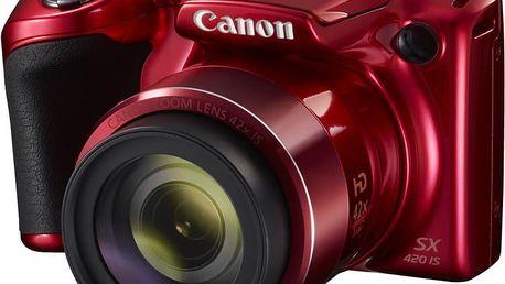 Canon PowerShot SX420 IS, červená - 1069C002AA