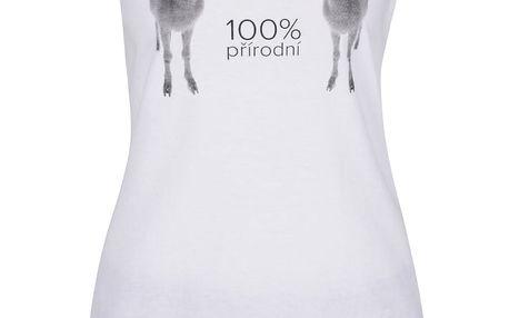 Bílo-modro-červené dámské pyžamo ZOOT Originál 100% Přírodní kozy