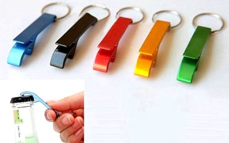 Hliníkový otvírák na klíče - dodání do 2 dnů