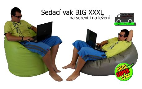 SEDVAK Sedací vak BIG XXXL hruška 02-slonová kost