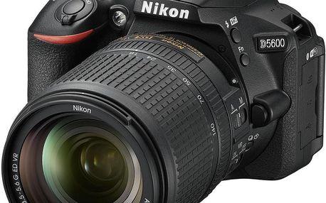 Nikon D5600 + 18-140 mm f/3,5-5,6G ED VR