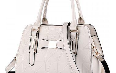 Luxusní dámská kabelka s mašlí - mix barev
