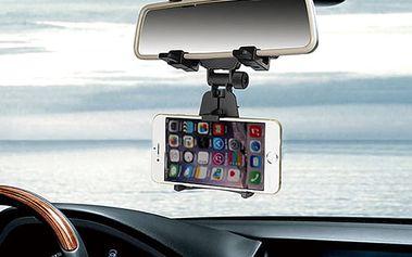 360° otočný držák na telefon do auta na zpětné zrcátko