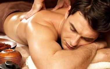 Masáže na výběr: zad a šíje, nohou, sportovní, ruční lymfatická nebo masáž celého těla na Praze 9