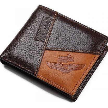 Pánská peněženka ve stylovém koženém provedení