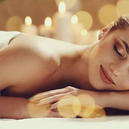 60minutová relaxační masáž dle výběru