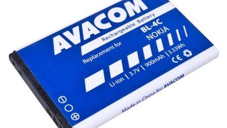 Baterie Avacom pro Nokia 6300, Li-Ion 900mAh (náhrada BP-4C) (GSNO-BL4C-S900A)
