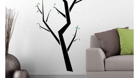 Samolepka na zeď - Hranatý strom