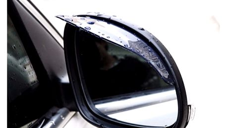 Stříška proti dešti na zpětné zrcátko do auta