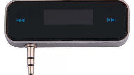 Mini FM transmitter 3,5 mm pro mobilní telefony