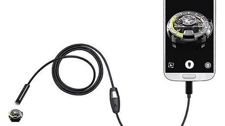 Micro USB endoskop s LED osvícením - 1,5 m / 7 mm
