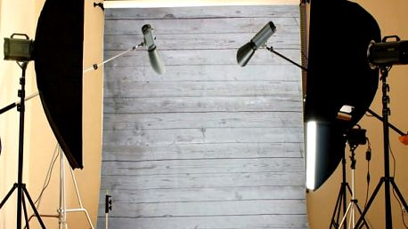 Fotografické pozadí - Vzor dřevěných prken