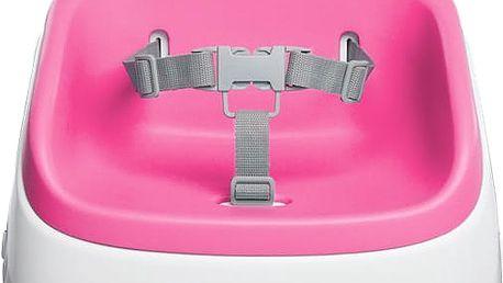 BRIGHT STARTS Podsedák na jídelní židličku SmartClean - Magenta 2r+, do 22 kg