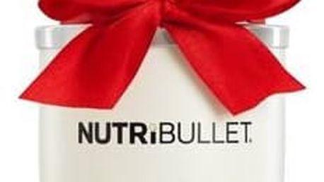 Stolní mixér Delimano NUTRIBULLET 600 White stříbrný/bílý + Doprava zdarma