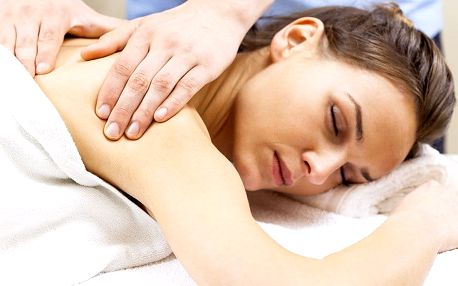 60minutová klasická masáž zad a šíje