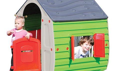 Dětský domek Buddy Toys BOT 1011Domeček MAGICAL šed.