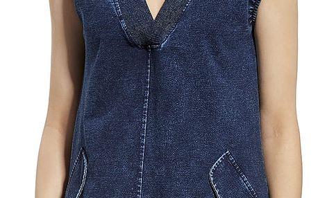Modré šaty 230061