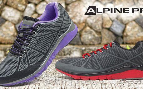 Lehké vycházkové tenisky Alpine Pro