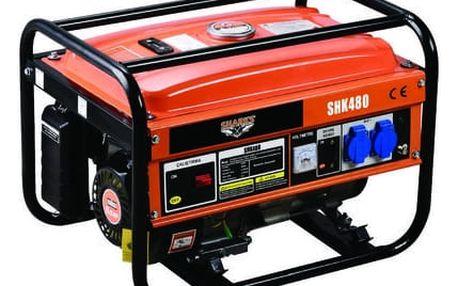 Benzínový generátor Sharks SH 2580 PT