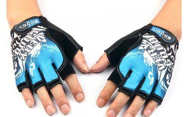 Prodyšné cyklistické rukavice