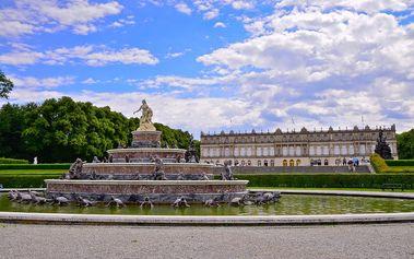 1denní výlet pro 1 osobu na zámek šíleného Ludvíka - Herrenchiemsee + návštěva Salzburgu