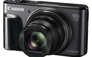 Digitální fotoaparát Canon SX720HS (1070C002) černý