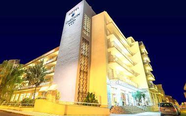 Španělsko-Pineda de Mar, 10 dní pro 1 os. v 3* hotelu + doprava, polo/plná penze/All Inclusive