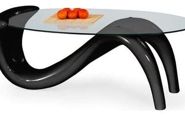 Konferenční stůl Cortina černá