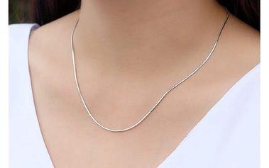 Řetízek stříbrné barvy pro ženy - 5 variant