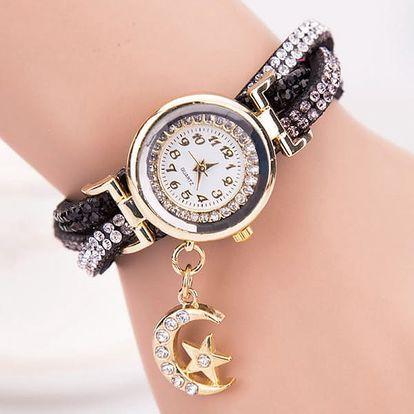 Dámské vintage hodinky s přívěskem - více barev