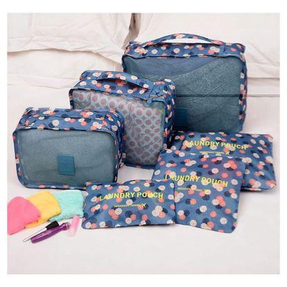 Cestovní ochranné obaly s nápaditým vzorem - sada 6 kusů