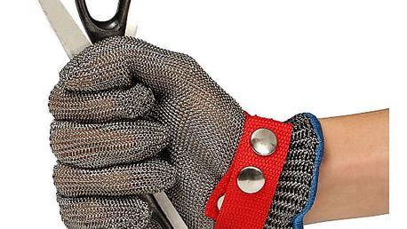 Kroužková rukavice z nerezové oceli