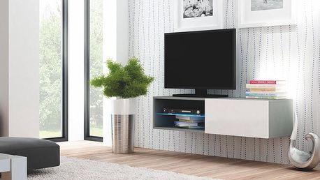 Televizní stolek Livo RTV 120W šedá