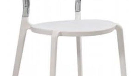 Plastová židle K100 čirá