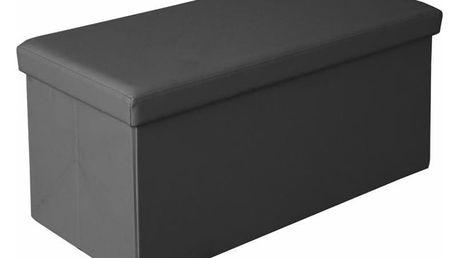 Taburet Moly XL černá