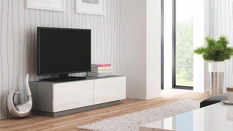 Televizní stolek Livo RTV-160S šedá
