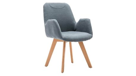 Židle Safari šedá
