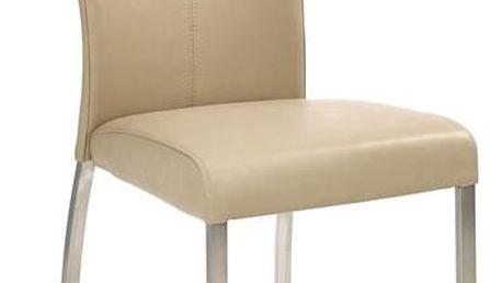 Kovová židle K178 šedá