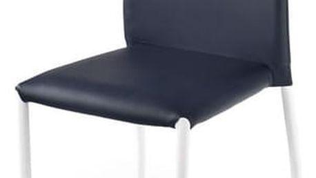 Kovová židle K168 černá